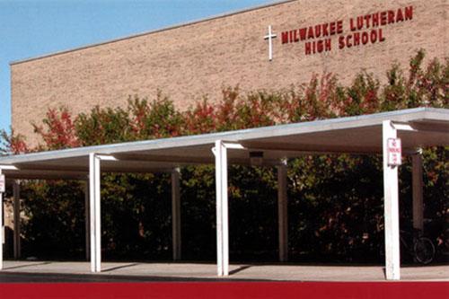 美国百年名校密尔沃基路德高中图片