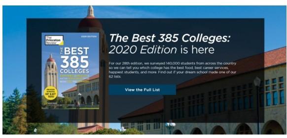,《普林斯顿评论》官网正式发布了2020版最新美国大学排名1.jpg