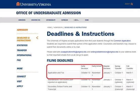 截止日期变化最大的当属University of Virginia在保留原有的EA申请(11月1日)首次开放ED申请(10月15日).webp.jpg